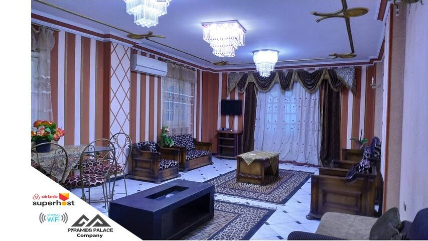 luxury apartment in pyramids gardens