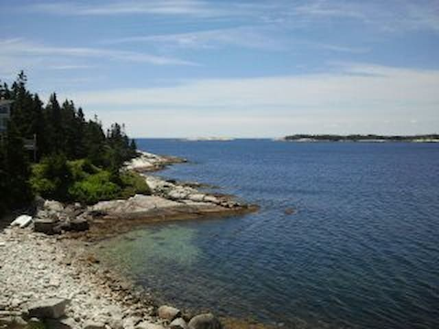 Oceanfront view for nature enthusiasts. - Blind Bay - Huis