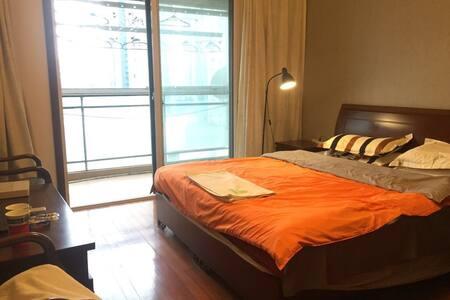 1103-1特卖 阳光阳台大主卧 徐家汇区域地铁站200米2人最佳 - 上海 - 公寓