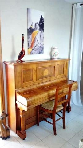 chambre chez l'habitant à la campagne - Soizy-aux-Bois - House