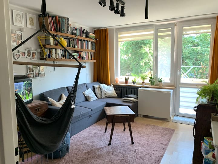 Comfy 2-bed flat in the centre of Zwierzyniec