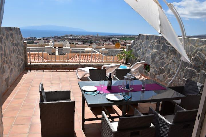 Villa Roque del Conde 2 - Коста Адехе - Дом