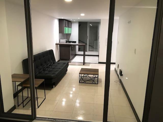 Amplio, confortable, ejecutivos o familia. terraza