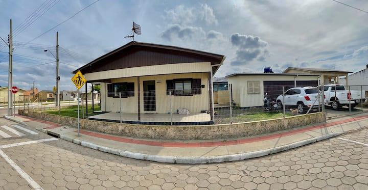Espaçosa! Casa na praia - 3 QTS