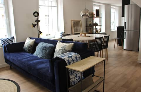 A stylish apartment in the centre of town