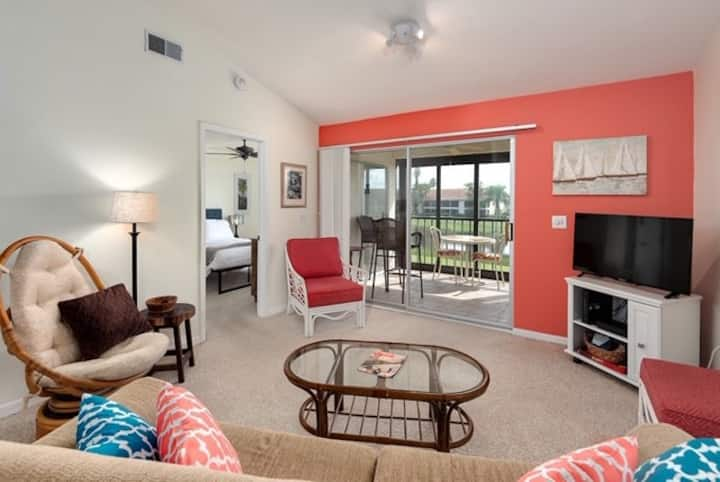 White Marsh Retreat with Golf and Lake View