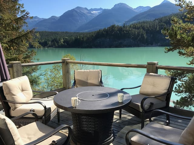 Whistler Home on a Lake with a View
