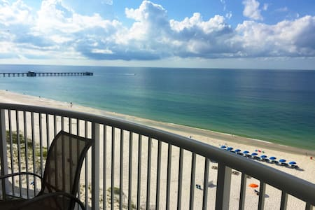 Beach Retreat! Ocean View, Indoor Pool, Balcony - Gulf Shores