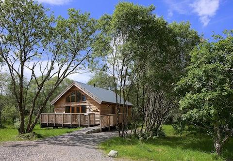 Silver Birch Log Cabin