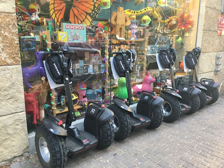 Possible stop:  Iconic Austin toy store