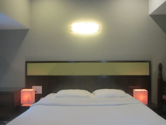 Luxury Deluxe Room for 2 In Baga Riverfront