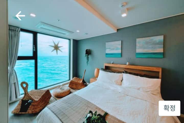 환상의 sunset 오션뷰 호텔급 하우스 #밍카이 하우스(공항 애월 10분 이호태후해변근접