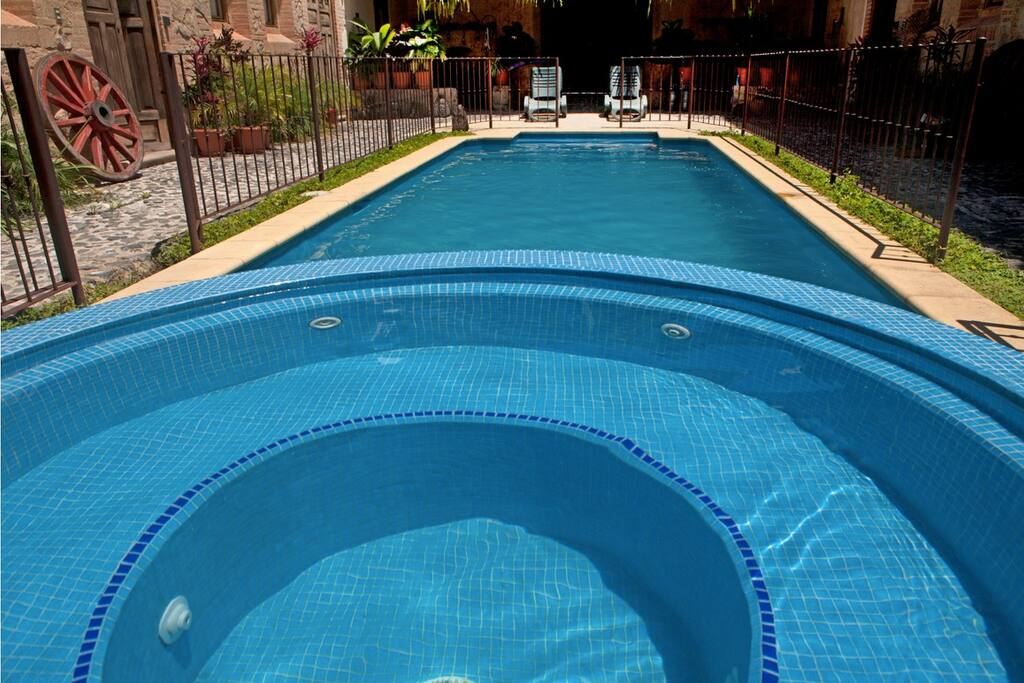 Our pool located right next door, which you have access to.