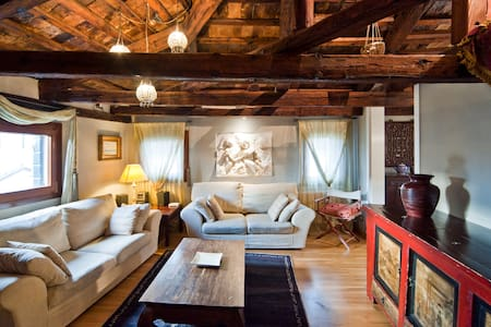 CASANOVA PENTHOUSE in the HEART of VENICE-RIALTO