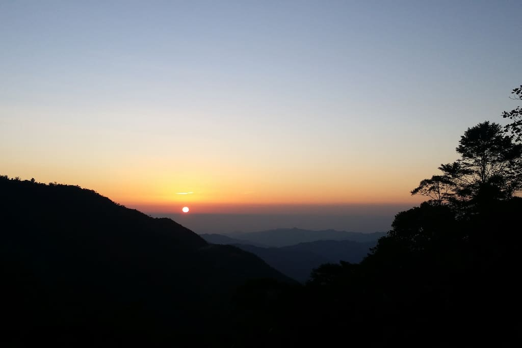 Spectacular Sunset view from Mountain Lodge
