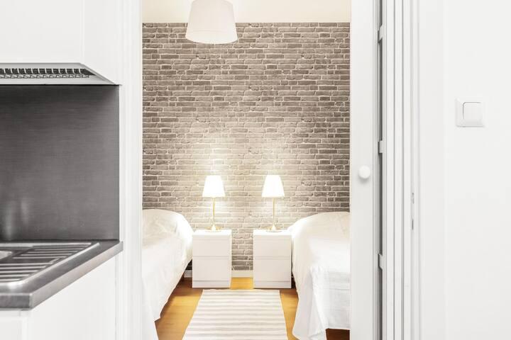 Superb 1-bedroom apartment-Center of Jyväskylä