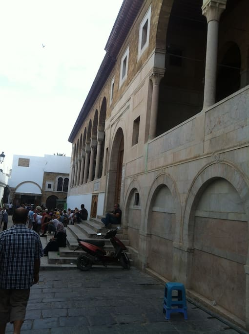 le mosque zitouna