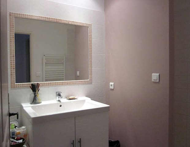 Salle de bain/douche à l'italienne