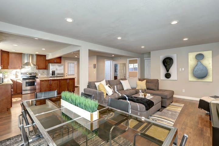 Beautiful, Open Concept Main Floor Living Room Area