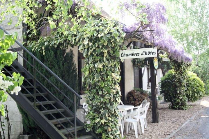 Studio 2 personnes en Val de Loire - Monthodon - Apartment