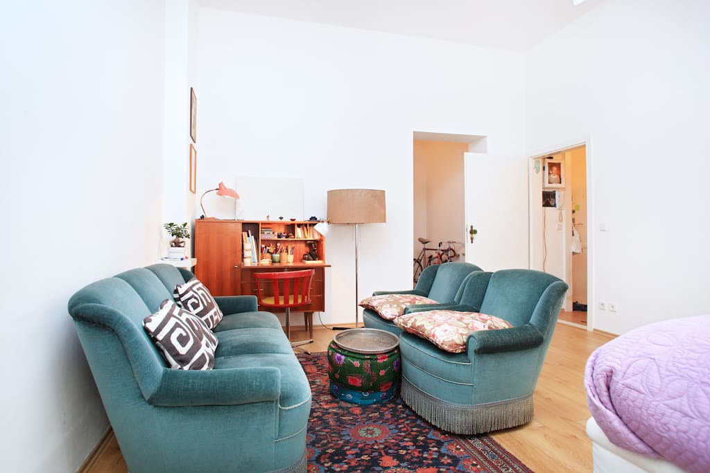 Bed- Livingroom