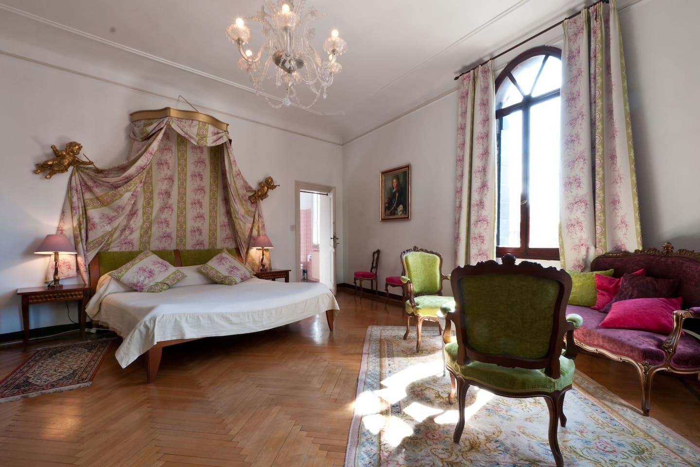 The XVIIIth century bedroom