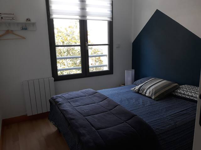 Chambre avec matelas confort
