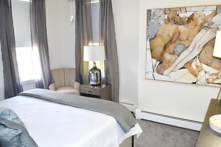 King Room #3 - Parking, Breakfast Treats - Lambertville - Bed & Breakfast
