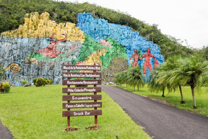 Vinales Valley's Homes/Tour