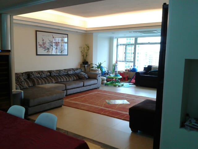 Sleeps 6! luxury apt, sea view, HK - Hong Kong - Apartament