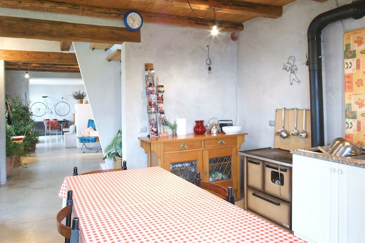 Venice / Dolomites - farm house  - Facen-travagola - House