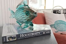 Ample reading material in living simple, houseboats, and living a fulfilled life through simplicity & life aboard.