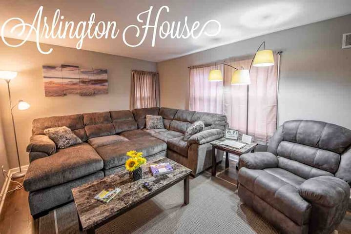 ❤️ARLINGTON HOUSE❤️ Your home while you're away✈