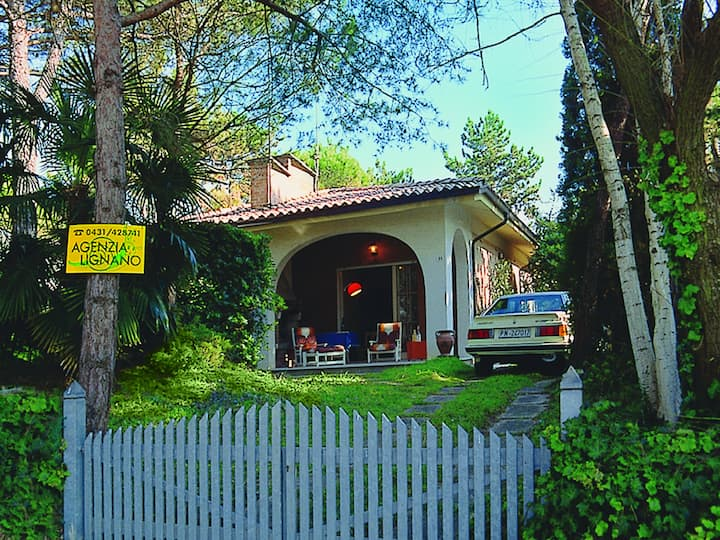 Villa con barbecue