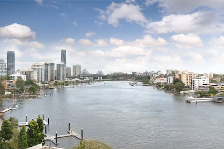 Superb location  with water views  - East Brisbane