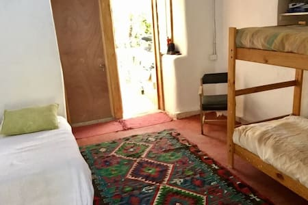 Pisco Elqui, Pieza para 3, baño privado.