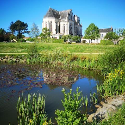 Maison de la fontaine au cœur de Vendée
