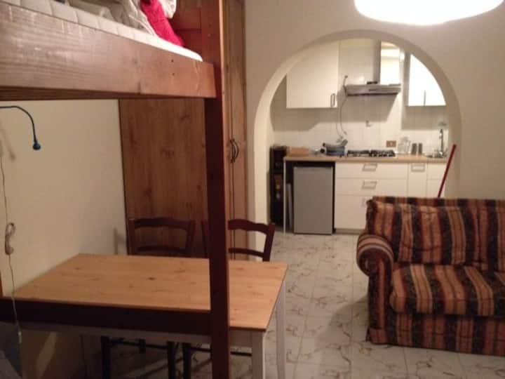 Private studio in Capannelle