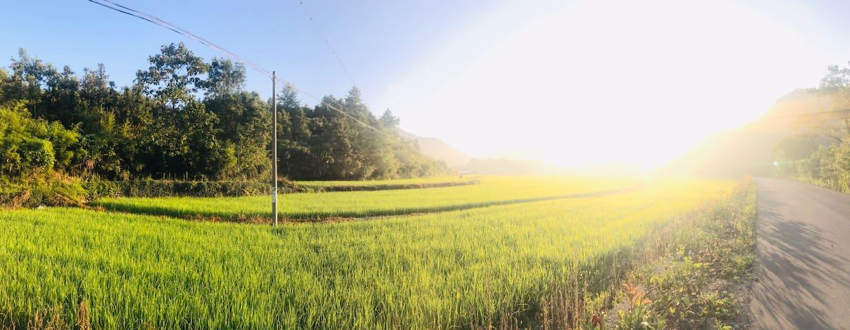 田园风光美好乡村