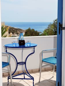 Manos studios for 2 with sea view - Poseidonia