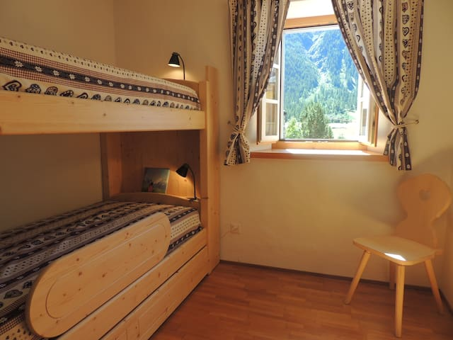 Romantic family holiday with kids - Madulain - Appartement