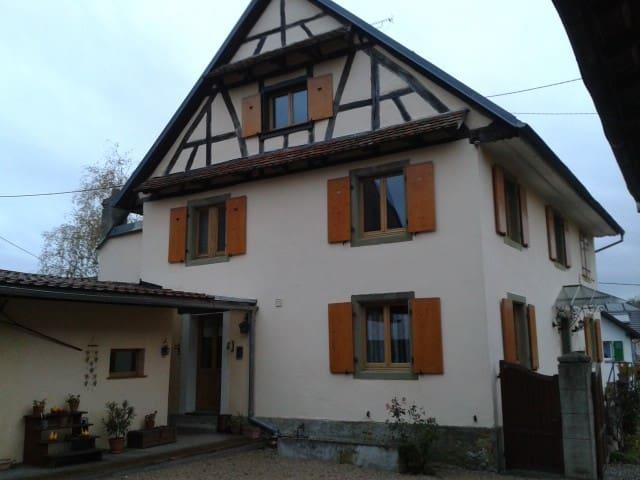Chambres et table d'hôtes en Alsace - Magstatt-le-Bas - Guesthouse