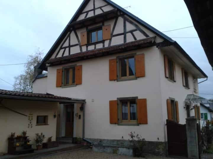 Chambres et table d'hôtes en Alsace