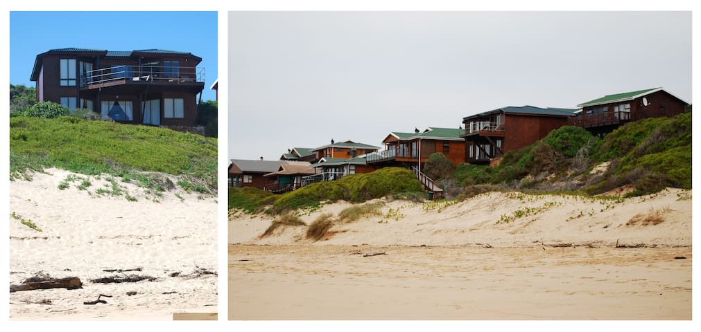 The Beach House - Groot Brakrivier - Huis