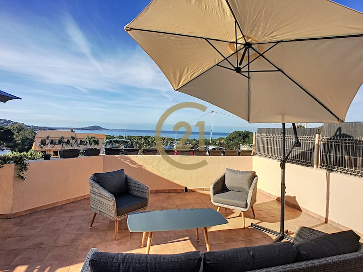 Villa vue mer proche plage