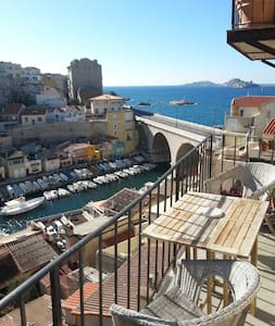 Room available in Vallon des Auffes - Marseille - Wohnung