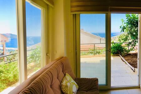 Demir House- Kaş merkez- sea view