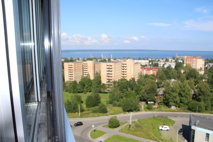 Квартира с видом на Онежское озеро г.Петрозаводск