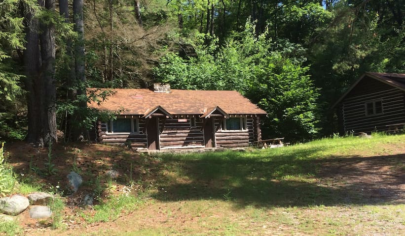 Iroquois Log Cabin--Painted Pony Ranch (Self-Care)
