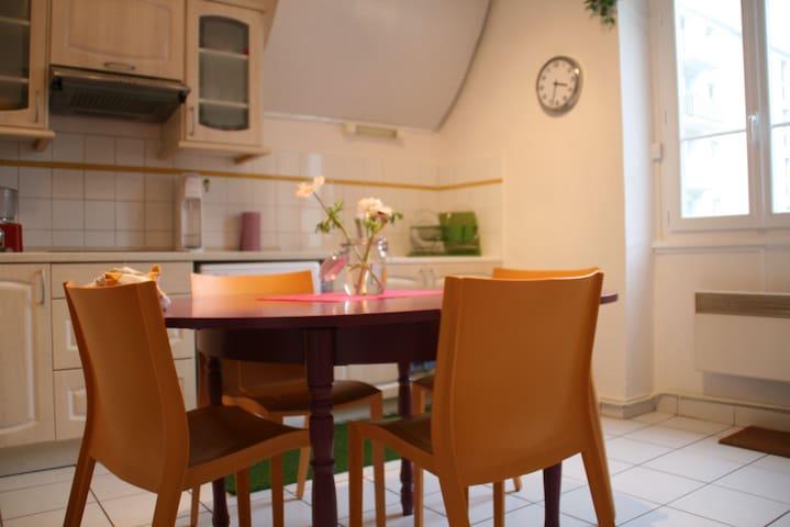 Appartement chaleureux Confluence